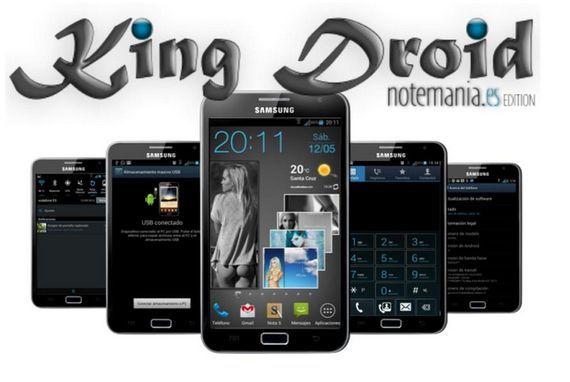 Samsung Galaxy Note, Rom KingDroid v8 by Dr. Taly Jelly Bean