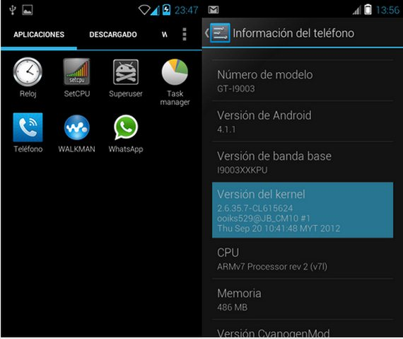 Samsung Galaxy SCL, Rom JellyMaster Junior Android 4.1.1
