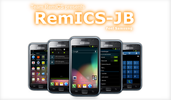 Samsung Galaxy SCL, Rom RemICS JB v3.0 Android 4.1.2
