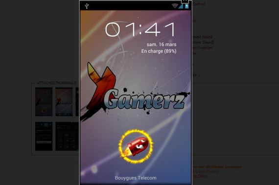 Samsung Galaxy SCL, Gamerz Rom Android 4.1.2